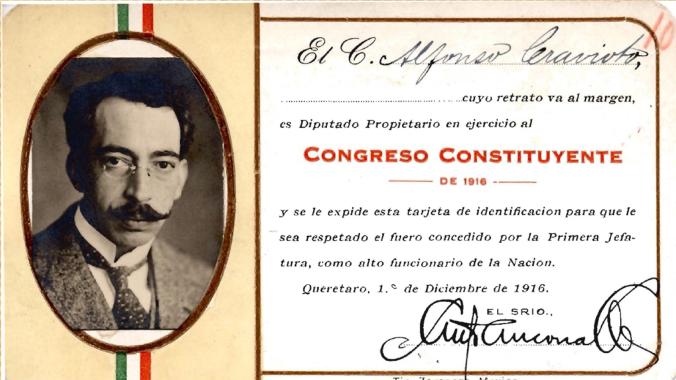 CREDENCIAL Alfonso Cravioto
